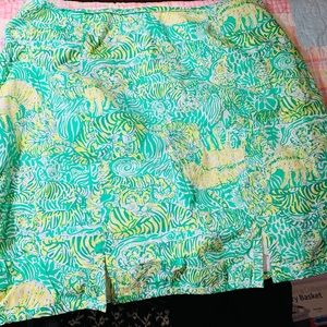 Lilly Pulitzer preowned vintage skirt size 16